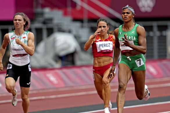 Blessing Okagbare suspended for doping violation