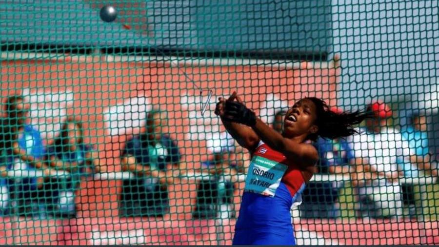 Youth Olympian Alegna Osorio dies after being struck by hammer