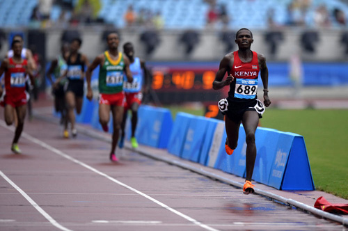 Former Youth Olympic 1500m champion Gilbert Kwemoi is Dies mysteriously