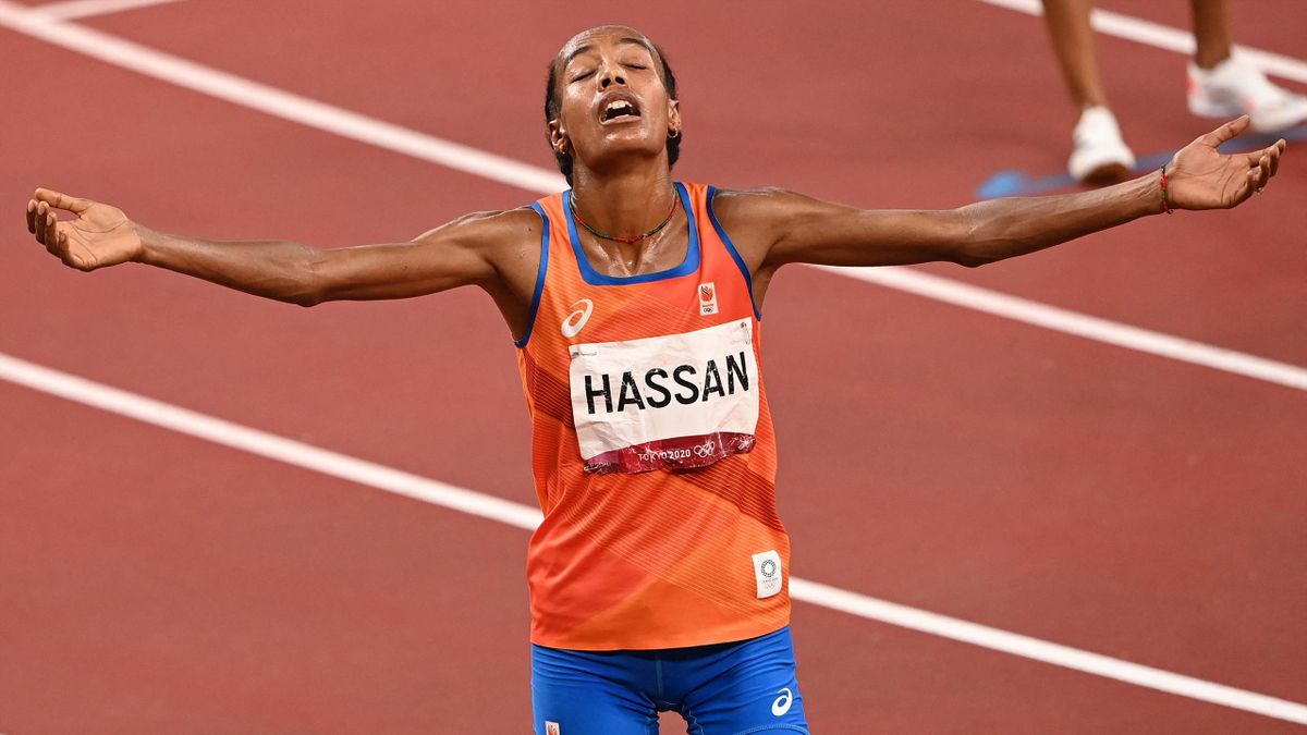 Sifan Hassan made history with her 10000m win Image credit: Getty Images