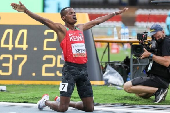 Kibet Keter steals the show in 1500m as he runs away with gold