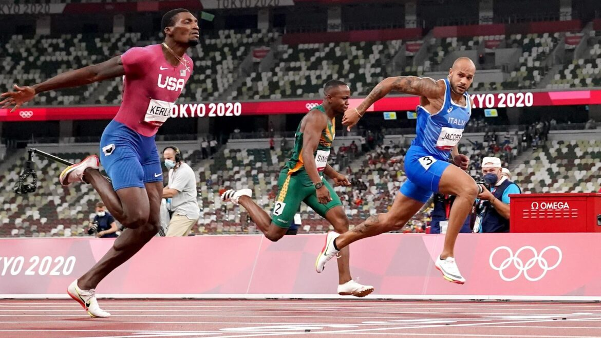 Double Olympic champion Jacobs shrugs off doping suspicions