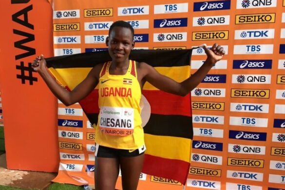 PRISCA CHESANG: The lady that won Uganda's only medal in Nairobi