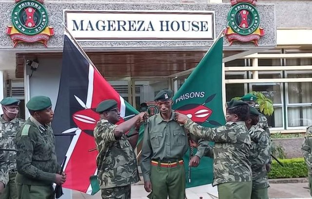 Timothy Cheruiyot promoted to Senior Superintendent of Prisons