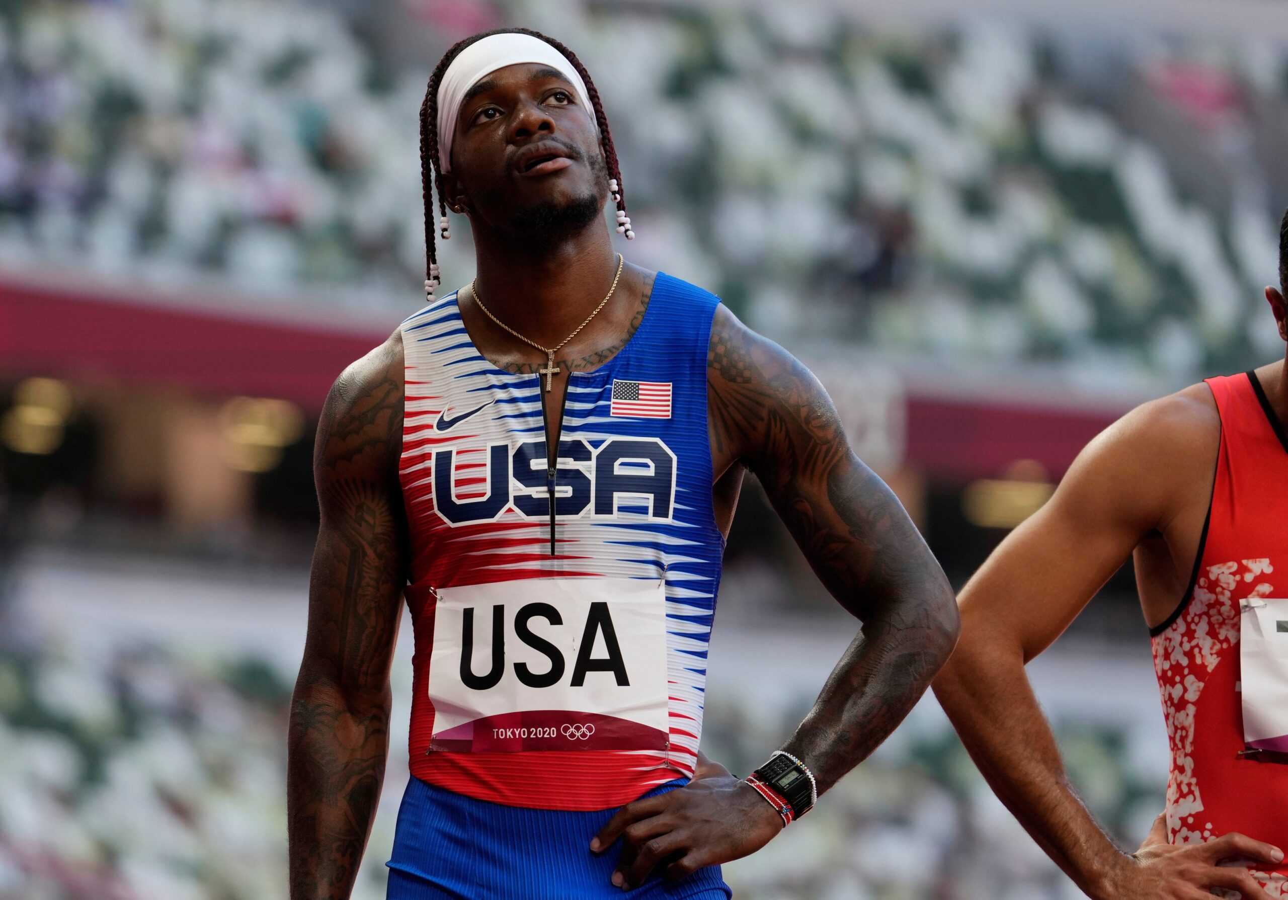 Shock as USA miss out on Men's 4x100m Relay Final