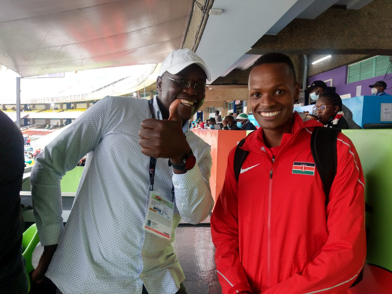 Vincent Keter and Etiang Kamar sail through the 1500m finals