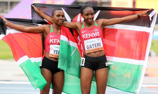 Its gold and silver for Kenya in 3000m race