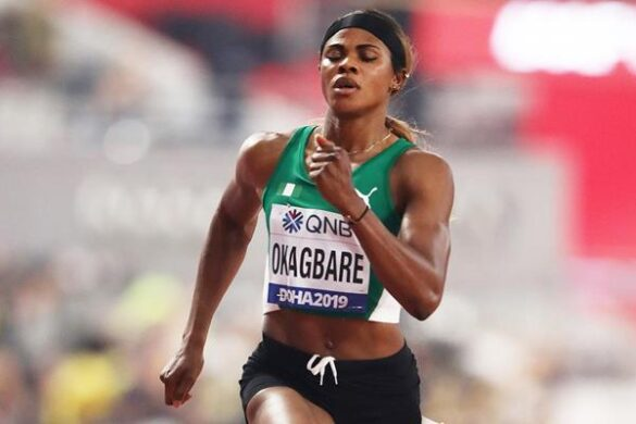 Blessing Okagbare banned four years for doping