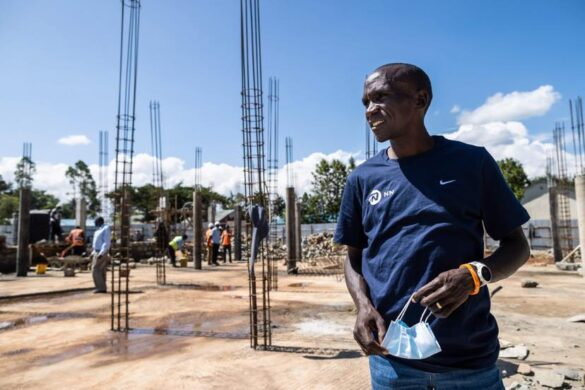 Eliud Kipchoge launches his Foundation