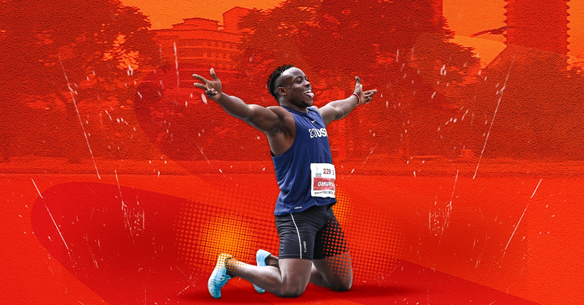 Ferdinand Omanyala runs the second fastest time in the world