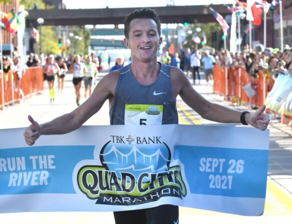 Mwangangi and Kibet to be compensated after being disqualified at Quad Cities Marathon