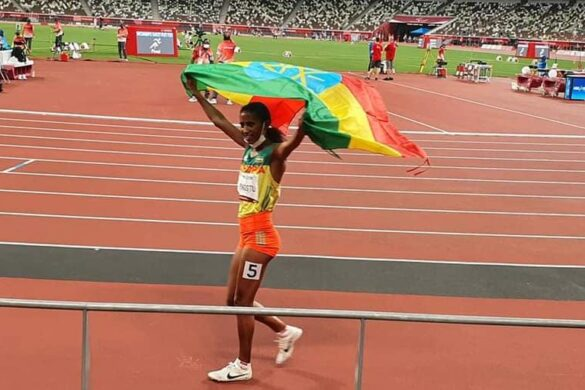 Ethiopia rewards Tigist Gezahegn with over 6 million for her Paralympic gold