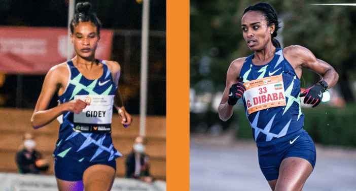 Letesenbet Gidey and Genzebe Dibaba set to attack the world half record in Valencia