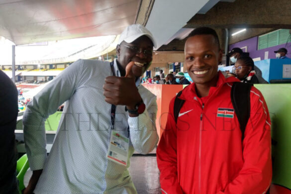 BERNARD OUMA: The future is bright for Vincent Keter