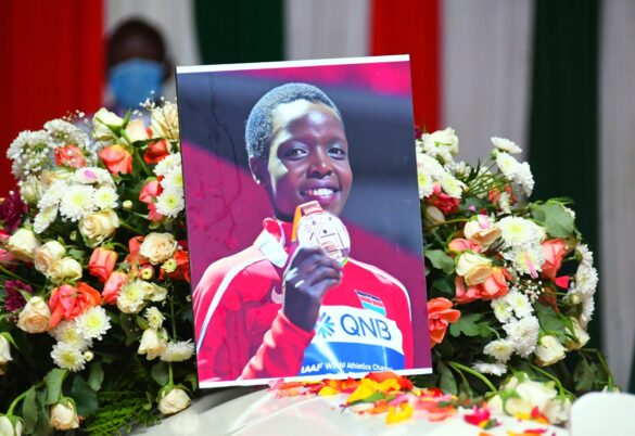 Mourners, athletes demand Justice Agnes Tirop at funeral