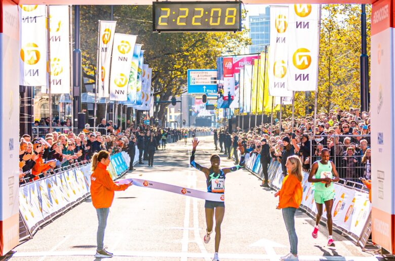 Edwin Melly: I am Happy to have helped my wife to win the Rotterdam Marathon