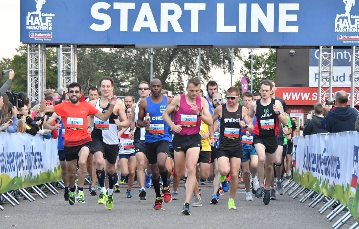 Swindon Half Marathon runners angry after being given 25 per cent refunds